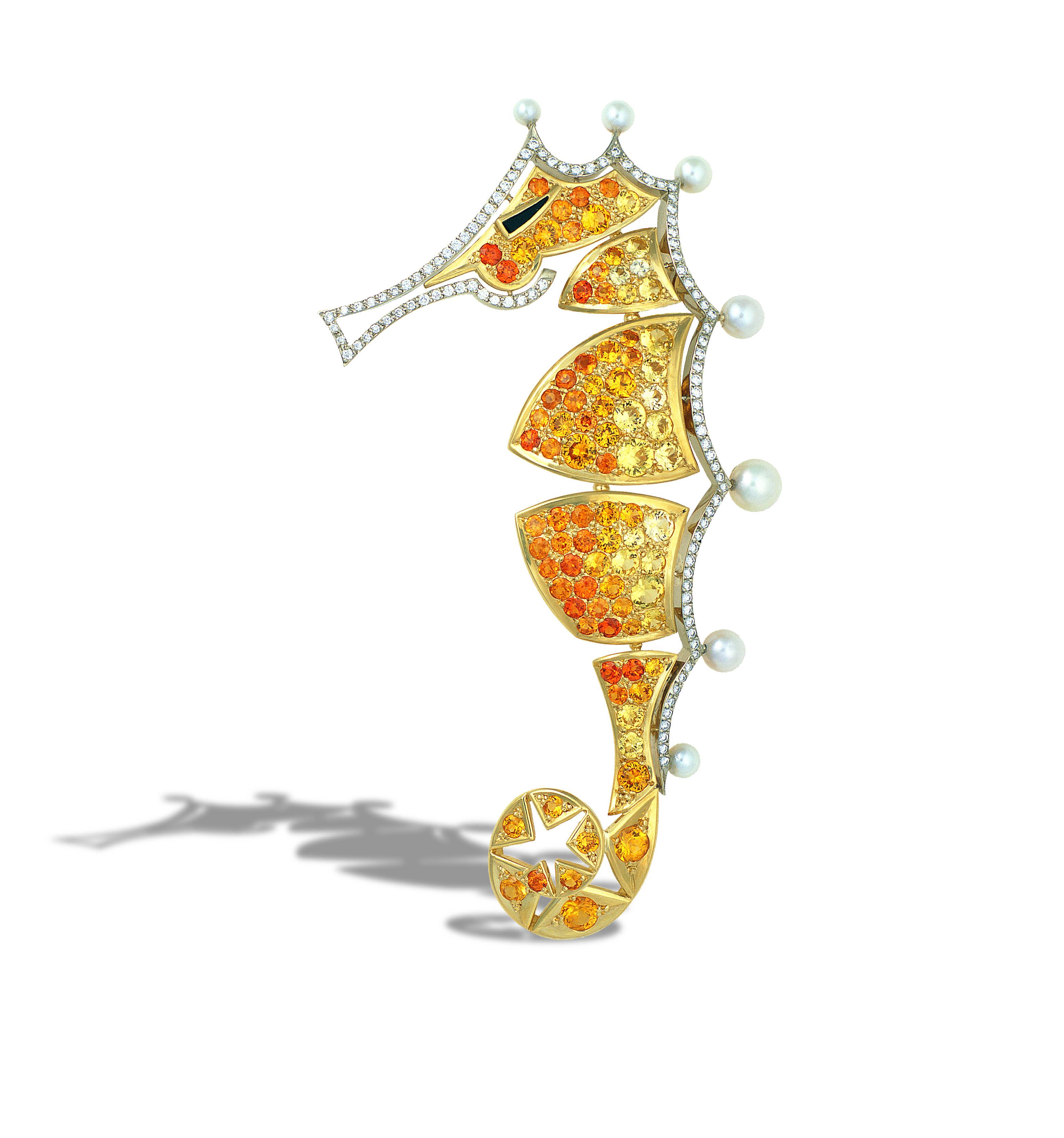 Gregoré Morin - Seahorse