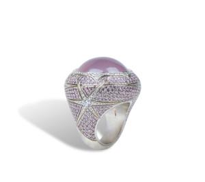 Jennifer Rabe Morin - Rose Quartz Ring