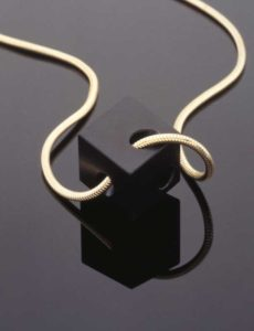 Submission by Alan Revere for the 1996 cube American Jewelry Design Council Project