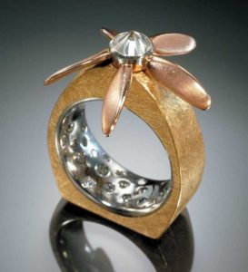 Submission by Alan Revere for the 2001 flight American Jewelry Design Council Project