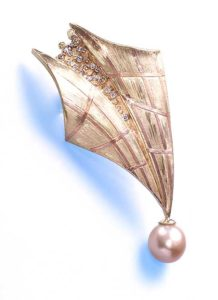 Submission by Alishan Halebian for the 2001 flight American Jewelry Design Council Project