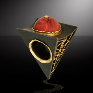Submission by Alishan Halebian for the 2005 pyramid American Jewelry Design Council Project