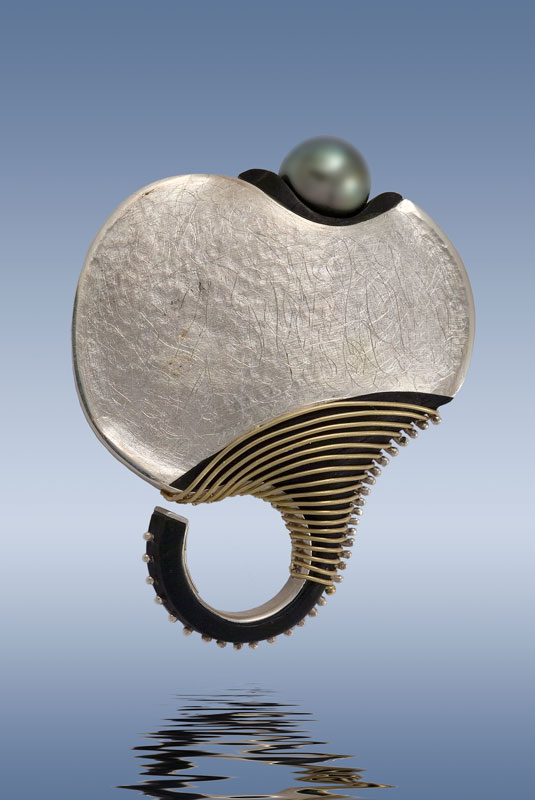 Submission by Alishan Halebian for the 2007 spiral American Jewelry Design Council Project