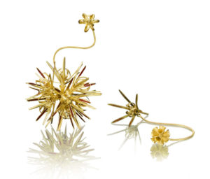 Submission by Barbara Heinrich for the 2009 explosion American Jewelry Design Council Project