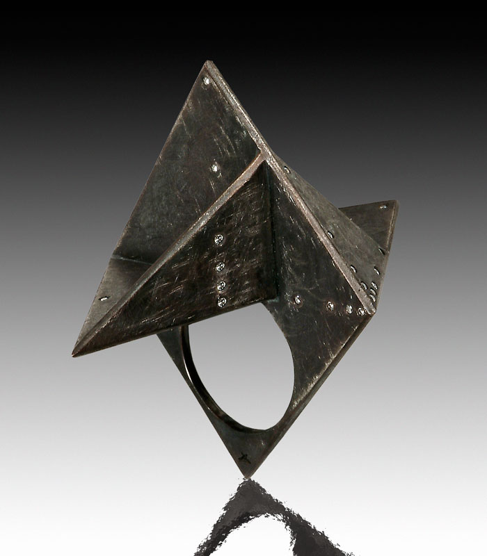Submission by Christoph Krahenmann for the 2005 pyramid American Jewelry Design Council Project