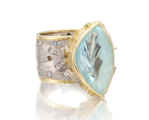 Submission by Cornelia Goldsmith for the 2012 ice American Jewelry Design Council Project
