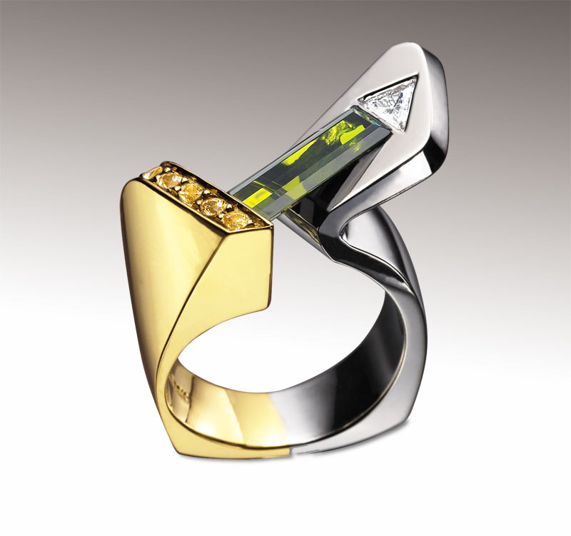 Submission by Cornelis Hollander for the 2003 fold American Jewelry Design Council Project