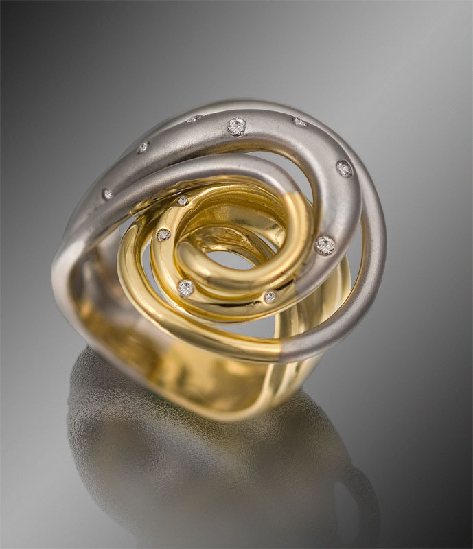 Submission by Cornelis Hollander for the 2007 spiral American Jewelry Design Council Project