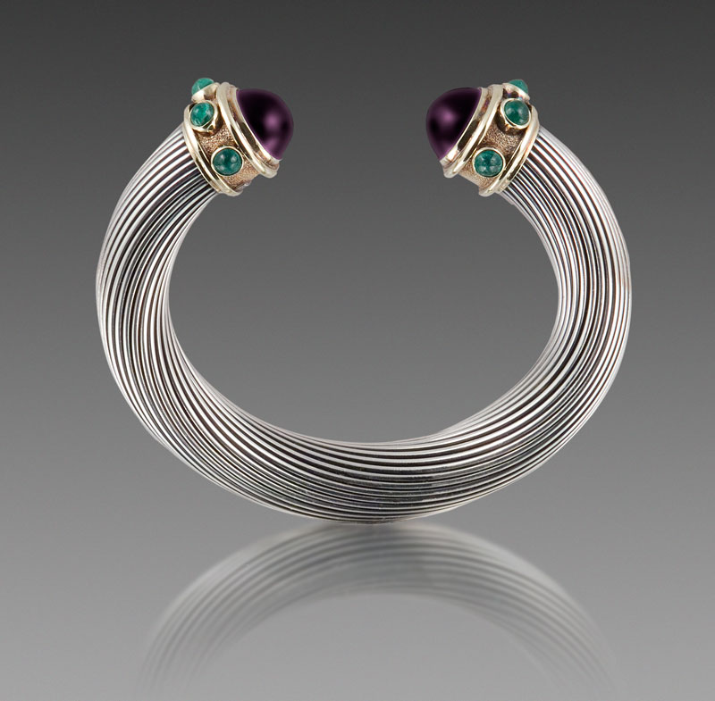 Submission by David Yurman for the 2007 spiral American Jewelry Design Council Project