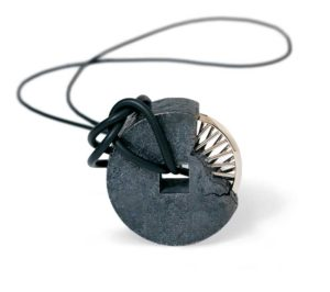Submission by Diana Vincent for the 1997 wheel American Jewelry Design Council Project