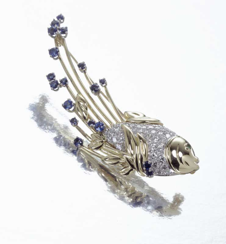 Submission by Diana Vincent for the 2000 water American Jewelry Design Council Project