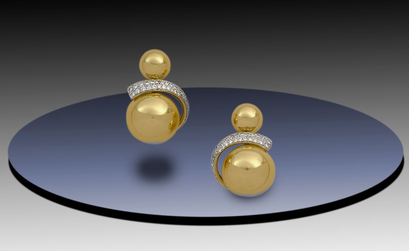 Submission by Diana Vincent for the 2004 sphere American Jewelry Design Council Project