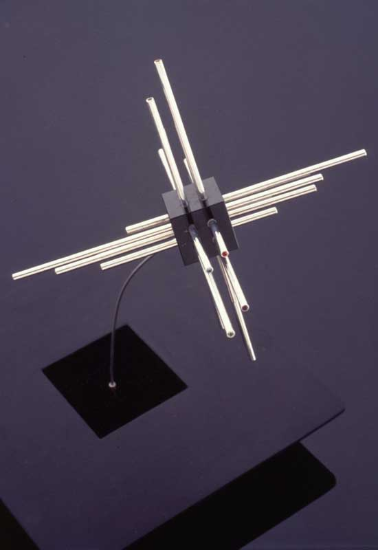 Submission by Eddie Sakamoto for the 1996 cube American Jewelry Design Council Project