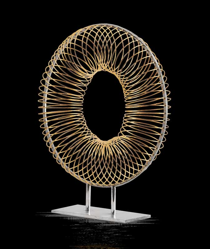Submission by Eddie Sakamoto for the 1997 wheel American Jewelry Design Council Project