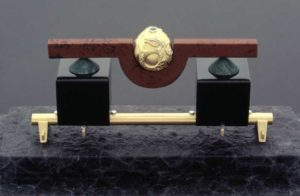 Submission by George Sawyer for the 1996 cube American Jewelry Design Council Project