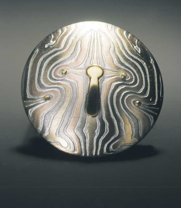 Submission by George Sawyer for the 1998 key American Jewelry Design Council Project