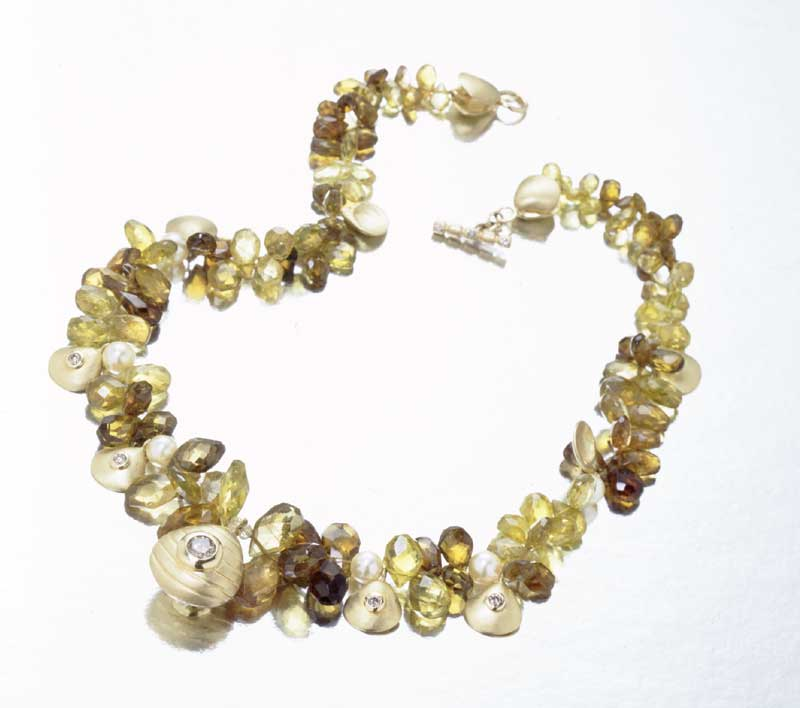 Submission by Jane Bohan for the 2000 water American Jewelry Design Council Project