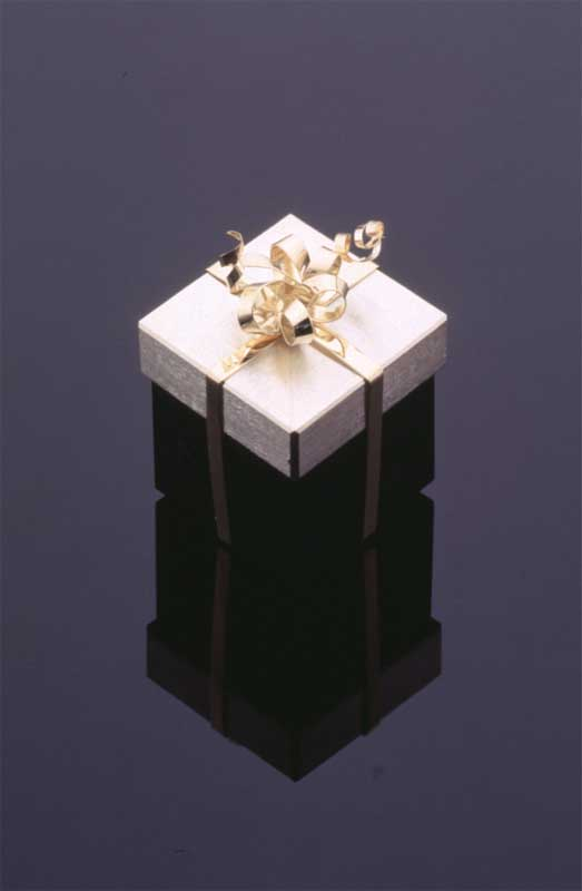 Submission by Jean Francois Albert for the 1996 cube American Jewelry Design Council Project