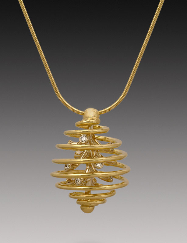 Submission by Jose Hess for the 2004 sphere American Jewelry Design Council Project