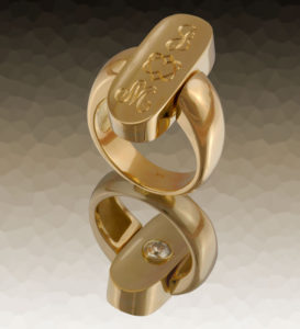 Submission by Jose Hess for the 2006 secret treasure American Jewelry Design Council Project