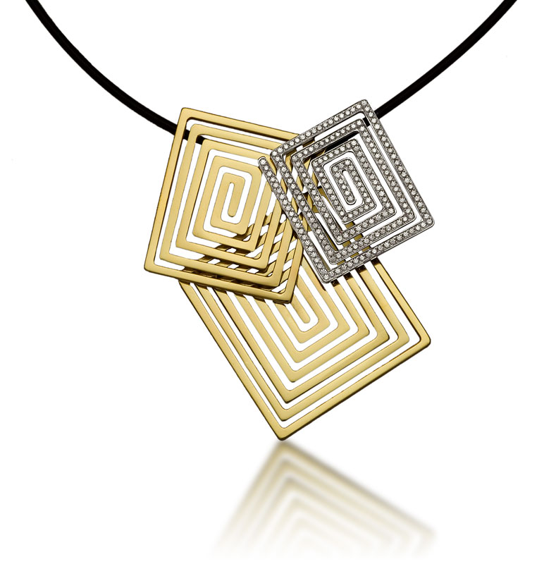 Submission by Jose Hess for the 2007 spiral American Jewelry Design Council Project