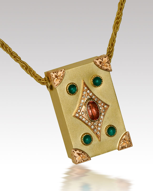 Submission by Mark Schneider for the 2006 secret treasure American Jewelry Design Council Project