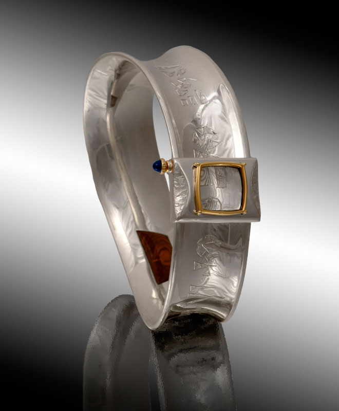 Submission by Michael Bondanza for the 2006 secret treasure American Jewelry Design Council Project