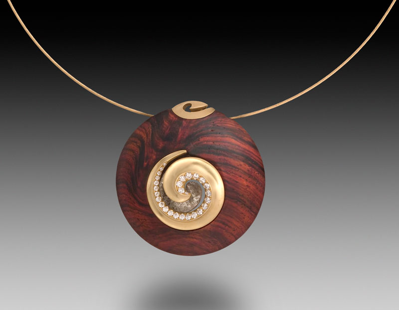 Submission by Michael Bondanza for the 2007 spiral American Jewelry Design Council Project