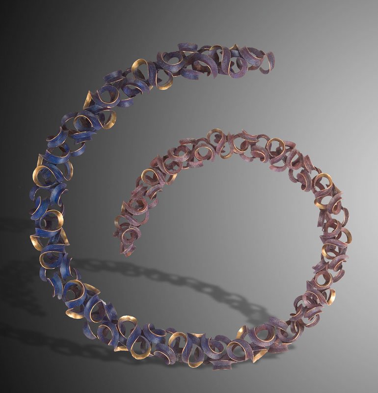 Submission by Michael Good for the 2007 spiral American Jewelry Design Council Project