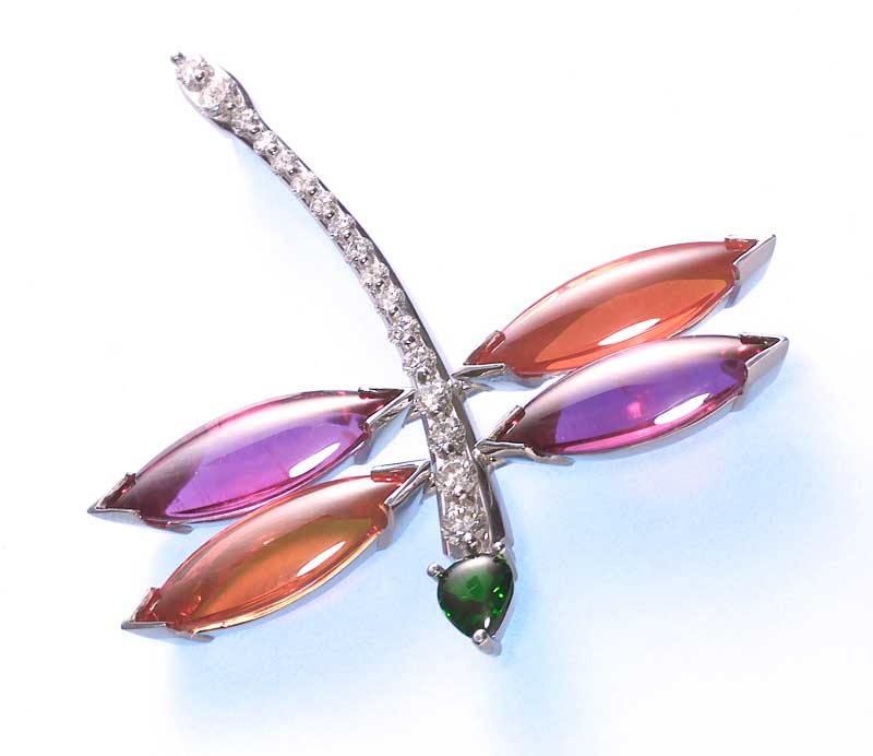 Submission by Paul Klecka for the 2001 flight American Jewelry Design Council Project