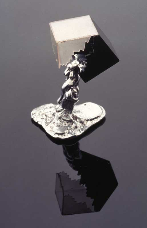 Submission by Paul Robilotti for the 1996 cube American Jewelry Design Council Project