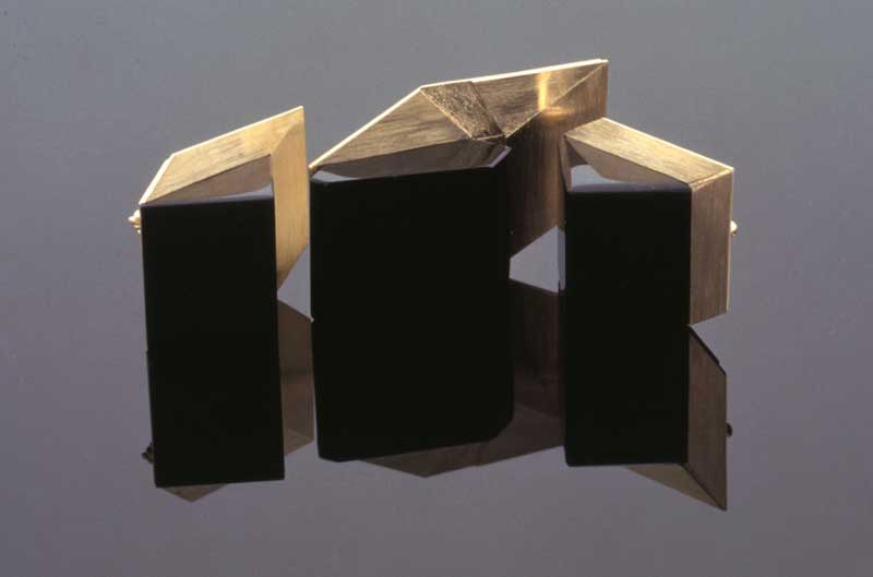Submission by Richard Kimball for the 1996 cube American Jewelry Design Council Project