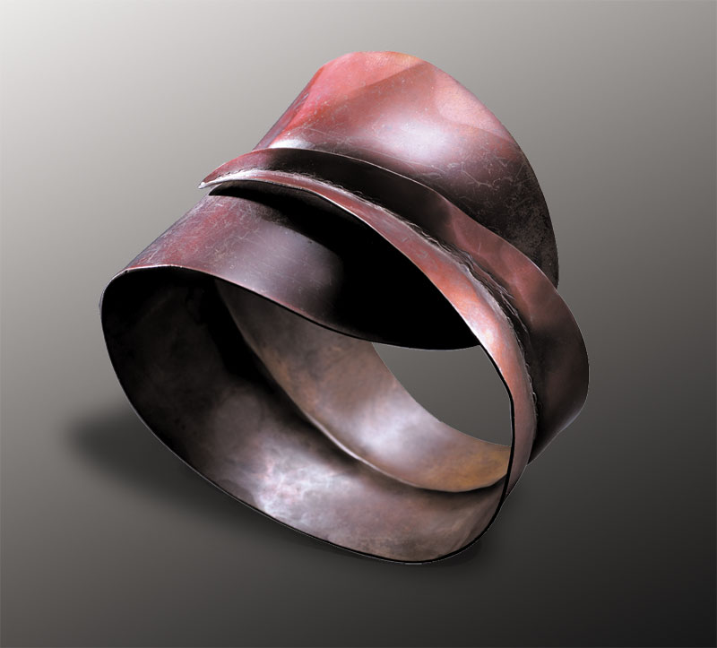 Submission by Robert Lee Morris for the 2003 fold American Jewelry Design Council Project