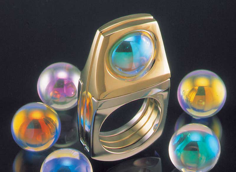Submission by Ron Hartgrove for the 1999 puzzle American Jewelry Design Council Project