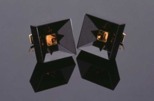 Submission by Scott Keating for the 1996 cube American Jewelry Design Council Project