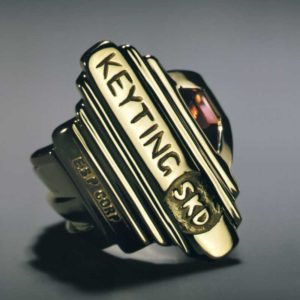 Submission by Scott Keating for the 1998 key American Jewelry Design Council Project