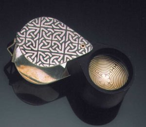 Submission by Scott Keating for the 1999 puzzle American Jewelry Design Council Project
