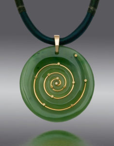 Submission by Scott Keating for the 2007 spiral American Jewelry Design Council Project