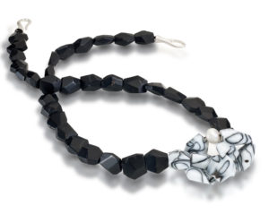 Submission by Scott Keating for the 2011 black and white American Jewelry Design Council Project