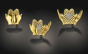 Submission by Susan Sadler for the 2002 peekaboo American Jewelry Design Council Project