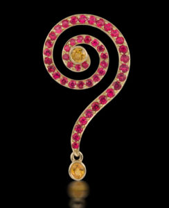 Submission by Susan Sadler for the 2007 spiral American Jewelry Design Council Project