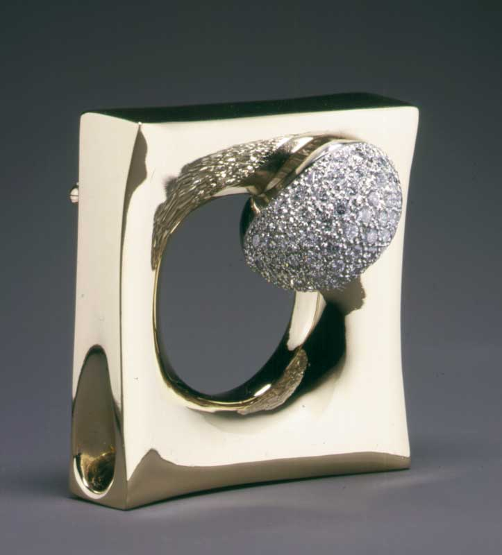 Submission by Takashi Wada for the 1998 key American Jewelry Design Council Project