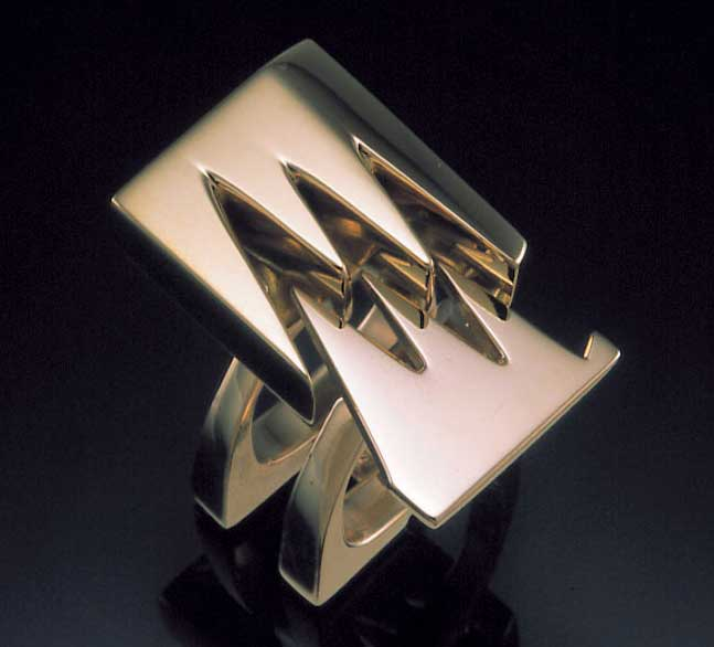 Submission by Takashi Wada for the 1999 puzzle American Jewelry Design Council Project
