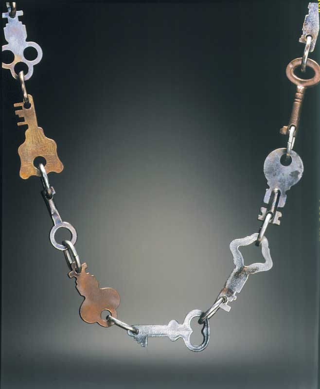 Submission by Tina Segal for the 1998 key American Jewelry Design Council Project