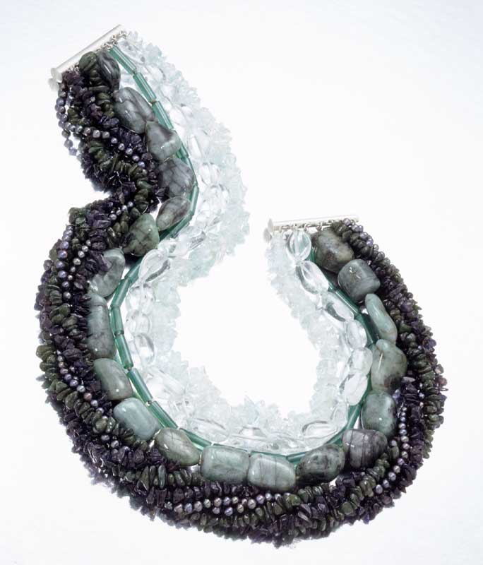 Submission by Tina Segal for the 2000 water American Jewelry Design Council Project