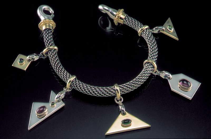 Submission by William Schraft for the 1999 puzzle American Jewelry Design Council Project