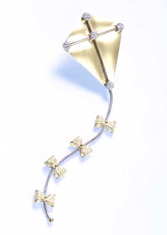 Submission by William Schraft for the 2001 flight American Jewelry Design Council Project