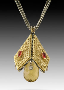Submission by William Schraft for the 2005 pyramid American Jewelry Design Council Project