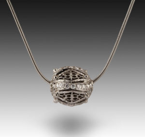 Submission by William Shraft for the 2004 sphere American Jewelry Design Council Project