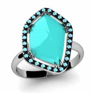 Turq Ring